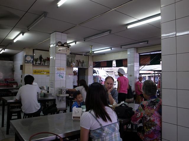 Laan Kai Thong(ラーンカイトーン)で朝食を