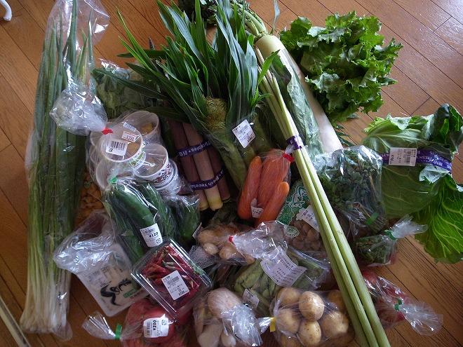 山梨産野菜で夕食、グリンピースご飯の簡単レシピ