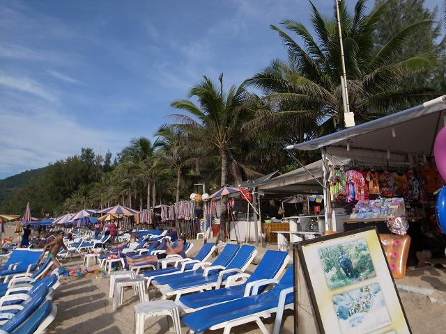 カマラビーチのオアシススパ