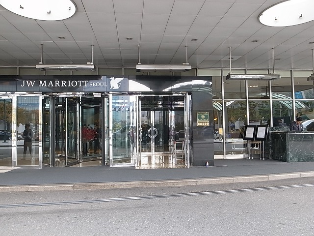 ソウルのJW marriottへはAREXと地下鉄を使って