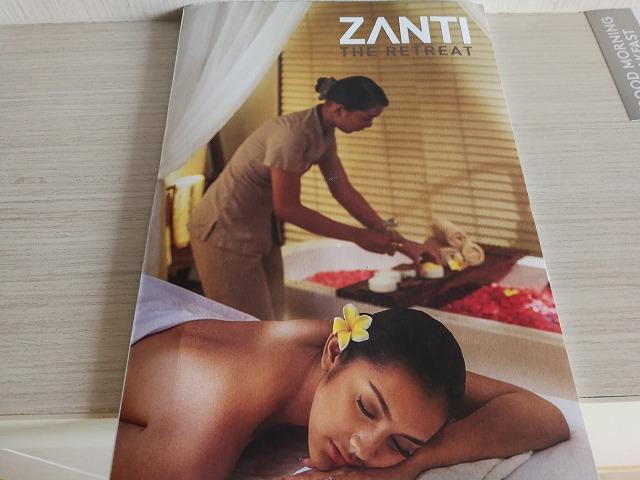 コートヤードマリオットのSPA【ZANTI】(バリ島スミニャック)
