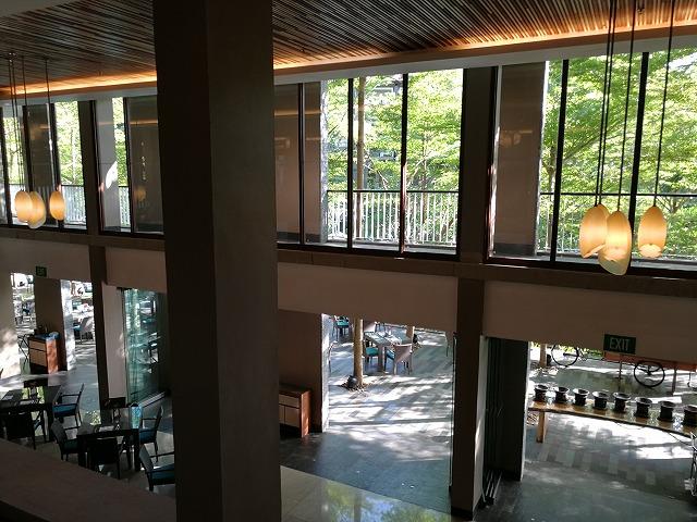ヌサドゥアのホテル 【コートヤードマリオットの朝食ブッフェ】